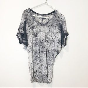Urban Outfitters Sparkle & Fade Burn Out Tee Small